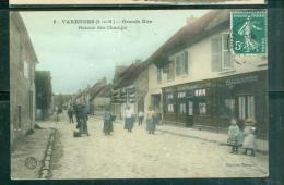 N°6  -  VAREDDES ( S.-et-M. ) - Grande Rue. Retour Des Champs   Lfd15 - Other Municipalities