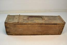 Caisse A Munitions MG08-15 MG08 MG 08 Modifiée, Caisse à Outils ? A Identifier - 1914-18