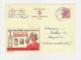 Publibel Obl. N° 1840 (Condiment  F. Tierenteyn  -  Gent) Obl: Zomer..  05/12/1963 - Publibels