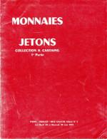MONNAIES JETONS DE COLLECTION R. CASTAING CATALOGUE DROUOT JUIN1976 NUMISMATIQUE VENTE PUBLIQUE SUR OFFRES - Français