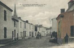 44Ri    44 La Chapelle Basse Mer Rue Du Cimetiere Vers La Mairie Attelage - La Chapelle Basse-Mer