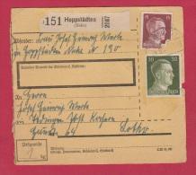 ALLEMAGNE  //  COLIS POSTAL  //  DE HOPPSTADTEN  //  24/5/43  // - Allemagne