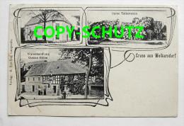 WELKERSDORF Löwenberg - Z. B. Warenhandlg. G. BÖHM - Jugendstil - Schlesien