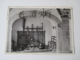 AK / Bildpostkarte 1938 (?) Luxembourg. Mersch. Coin De Feu Du Chateau Féodal. - Sonstige