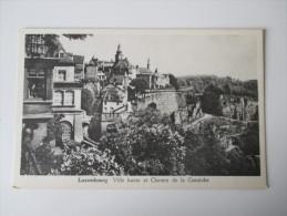 AK / Bildpostkarte Luxembourg Ville Haute Et Chemin De La Corniche. No 33 Messageries Paul Kraus - Luxemburg - Stadt