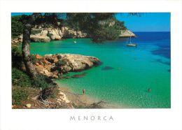 Cala Mitjaneta, Menorca, Spain Espana Postcard Used Posted To UK 2004 Atm - Menorca