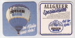 Zötler Brauerei Rettenberg , Ballon - Allgäuer Spezialitäten - Bierdeckel