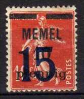 Memel (Klaipeda) 1921 Mi 34 * [030514L] @ - Memelgebiet