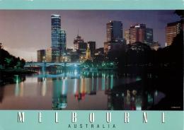 Melbourne, Victoria, Australia Postcard - Melbourne