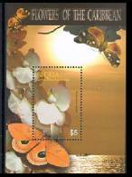 BEQUIA  367  MINT NEVER HINGED SOUVENIR SHEET OF FLOWERS - ORCHIDS   #  081-2   ( - Unclassified