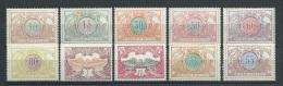 Belgien 1902/12 Eisenbahnpaketmarken  Lot  Mi. -Nr. 28, 32, 37, ...* - Bahnwesen