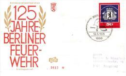 GERMANIA, GERMANY 1976 - FDC 125 ANNI POMPIERI BERLINO - Pompieri