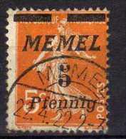 Memel 1922 Mi 52, Gestempelt [030514L] @ - Memelgebiet