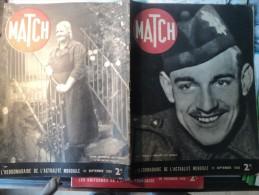 MATCH DU 21 SEPTEMBRE 1939. LE TOMMY ANGLAIS EST REVENU... MME BENED DE MEILLERIE DONT SES 10 FILS SONT SOLDATS - Journaux - Quotidiens