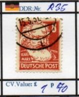 EASTGERMANY:DDR: BEFORE 1960 (DDR 250-1 (2) - Zone Soviétique