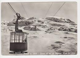 ^ CERVINIA BREUIL VALTOURNENCHE AOSTA CAMPI DI SCI AL PLATEAU ROSA FUNIVIA PANORAMA 188 - Aosta
