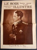 Le Soir Illustré - N° Spécial -  Les Funérailles Du Roi Albert; - 1900 - 1949