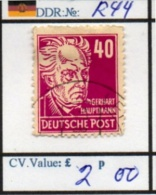 EASTGERMANY:DDR: BEFORE 1960 (DDR 250-1 (9) - Zone Soviétique