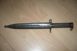 BAIONNETTE SUEDOISE M1896 LA MARINE - Armes Blanches