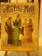 LE PETIT ECHO DE LA MODE, N°40, Du 04/10/1931, Spécial Modes D´hiver, - Journaux - Quotidiens