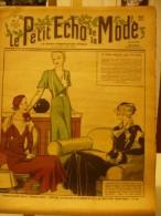 LE PETIT ECHO DE LA MODE, N°4, Du 22/01/1933, La Mode élégante Pour Les Visites - Journaux - Quotidiens