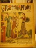 LE PETIT ECHO DE LA MODE, N°16, Du 16/04/1933, Spécial Ameublement - Journaux - Quotidiens