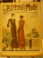 LE PETIT ECHO DE LA MODE, N°17, Du 23/04/1933, Le Printemps à Paris, Bord De Seine, Notre Dame - Journaux - Quotidiens