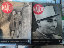 MATCH DU 12 OCTOBRE 1939. LIEUTENANT LOUIS PAUL DESCHANEL... MARIE BELL ET MARY D ALMES DANS LA CAVE - Journaux - Quotidiens