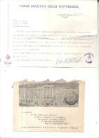 S.GIOVANNI ROTONDO,CASA SOLLIEVO DELLA SOFFERENZA ,PADRE PIO.1-12-61-.BUSTA .H939 - Affrancature Meccaniche Rosse (EMA)