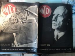 MATCH DU 5 OCTOBRE 1939. RACKIEWICZ PRESIDENT DE LA POLOGNE... L AVIATRICE MARYSE BASTIE / LE GRAND DUC WLADIMIR - Journaux - Quotidiens