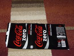 Coca Cola Zero Diet 2,5L 2,5 Liter Label From Hungary - Coca-Cola