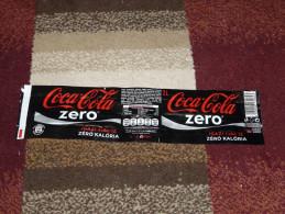 Coca Cola Zero Diet 2L 2 Liter Label From Hungary - Coca-Cola