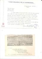 S.GIOVANNI ROTONDO,CASA SOLLIEVO DELLA SOFFERENZA ,PADRE PIO.3-6-668-.BUSTA .H939 - Affrancature Meccaniche Rosse (EMA)