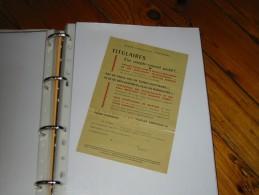 Publicite PTT             Postes Telegraphes Telephone Compte Courant Postal - Publicités