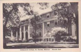 Missouri St Charles Lindenwood College Niccolls Hall Albertype - St Charles