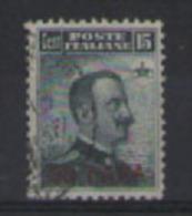 LEVANTE COSTANTINOPOLI  1908    EFFIGE SOPRASTAMPATA     SASS. 15   USATO VF - 11. Uffici Postali All'estero