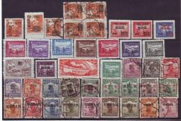 1913 China OPTD. LOT Dif #, MNH+MH+ Cancl..See Scan - Xinjiang 1915-49