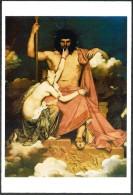 Cina/Chine/China: Intero, Stationery, Entier, J. A. D. Ingrs, 'Giove E Teti', «Jupiter Et Thétis», 'Jupiter And Thetis' - Mythologie