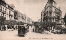 ! Alger, Algier, Old Postcard,  Straßenbahn, Tramway, Algerien - Tramways