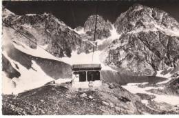 CPSM CHAMONIX LA FLEGERE TELE-CABINE DE L' INDEX LA GARE D' ARRIVEE ET L' AIGUILLEE DE LA FLORIA - Chamonix-Mont-Blanc