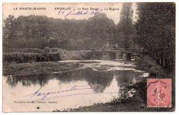 ANDELOT (HAUTE MARNE) - LE PONT ROUGE - LE ROGNON. - Andelot Blancheville