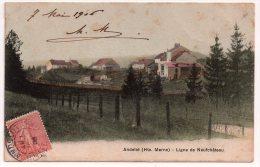 ANDELOT (HAUTE MARNE) - LIGNE DE NEUFCHATEAU - CPA COLORISEE. - Andelot Blancheville