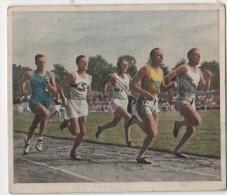 Zigaretten Sammelbild Deutscher Sport Bild Nr 23 800 M Lauf In Hamburg - Zigaretten