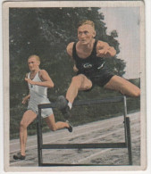 Zigaretten Sammelbild Deutscher Sport Bild Nr 24 Scheele 400 M Hürdenrekord - Zigaretten