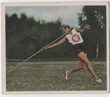 Zigaretten Sammelbild Deutscher Sport Bild Nr 37 Lilly Fleischer - Cigarette Cards