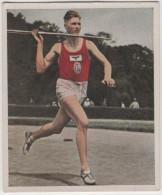 Zigaretten Sammelbild Deutscher Sport Bild Nr 50 Zehnkampf Hans Heinz Sievert - Cigarette Cards