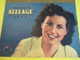 Calendrier /SILLAGE/ Le Magazine Des Jeunes Travailleuses/ Saint Cloud / Seine Et Oise/1948  CAL154 - Big : 1941-60