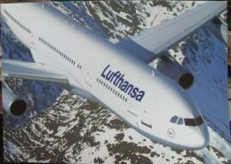 Airline Lufthansa /  Airplane Airbus A340 - 200 - 1946-....: Era Moderna