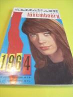 Almanach/ Radio Tele LUXEMBOURG / RTL/ Guide Du Twist Du Rock Et Du Madison/ Françoise Hardy/1964   CAL155 - Calendars