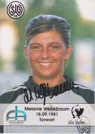 Original Women Football Autograph SG Wattenscheid 09 Team 2004 /05 Melanie Weßelbaum - Autographes